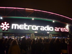 Metro Radio Arena Customer Services Arena - 0844 248 2367