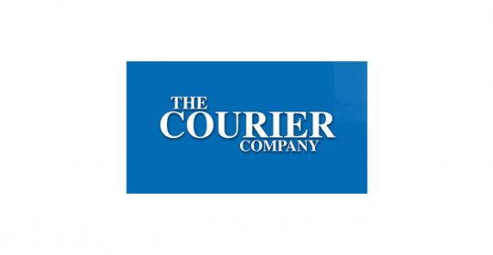 The Courier Company Logo