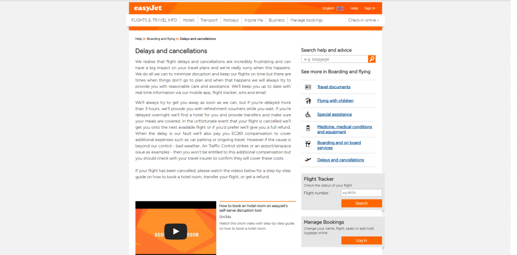 How to Claim Compensation from easyJet
