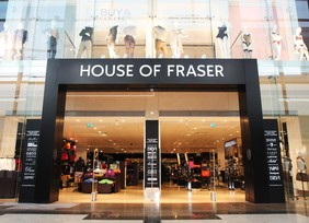 contact House of Fraser