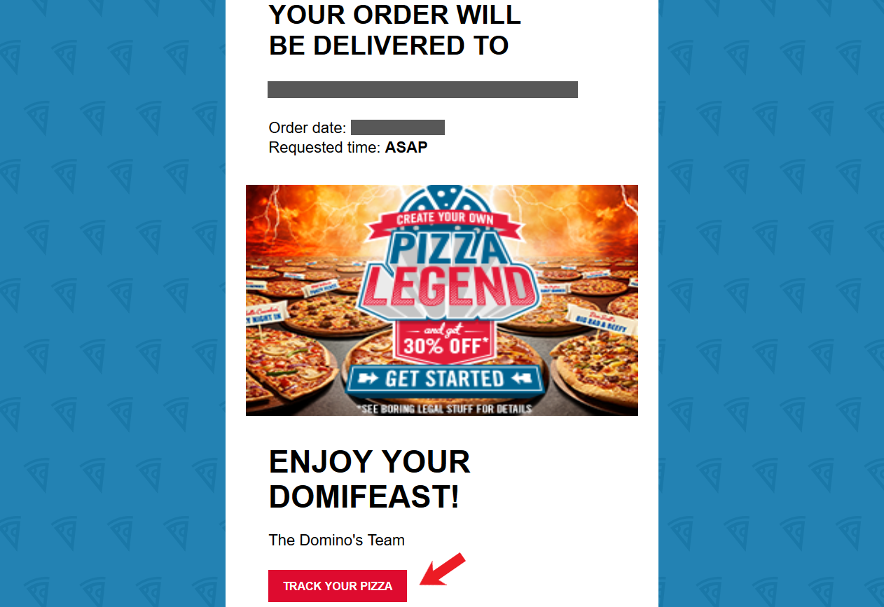 Domino's Late Delivery