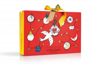 L Occitane beauty advent calendar
