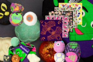 halloween gift sets and knot wrap lush