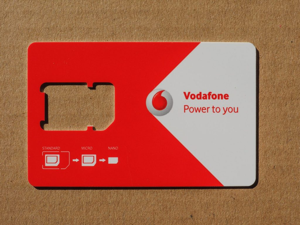 Vodafone Activate SIM Card Guide