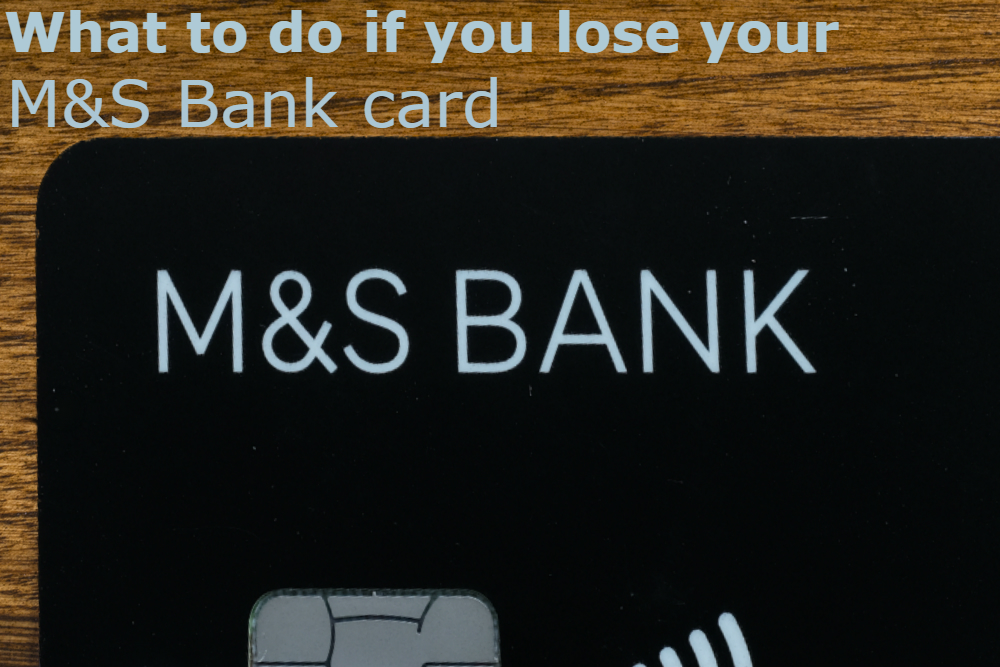 lost marks and spencer card