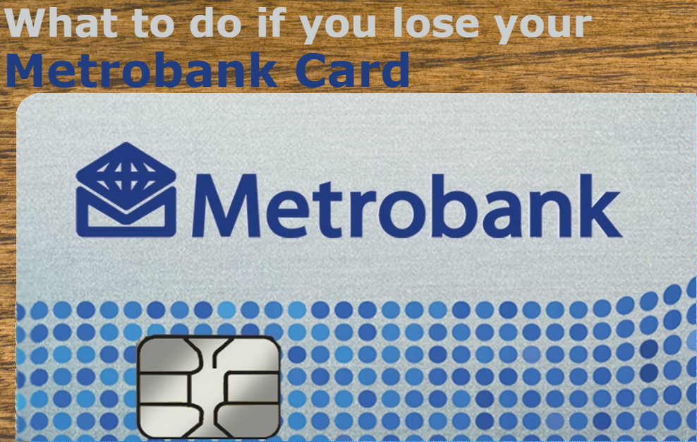 lost metro bank card