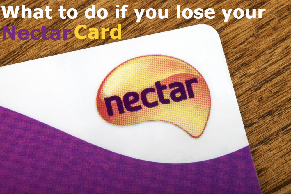 lost nectar card