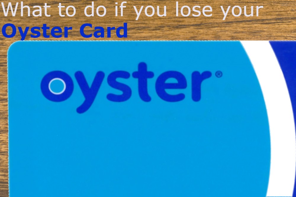 oyster card replacement