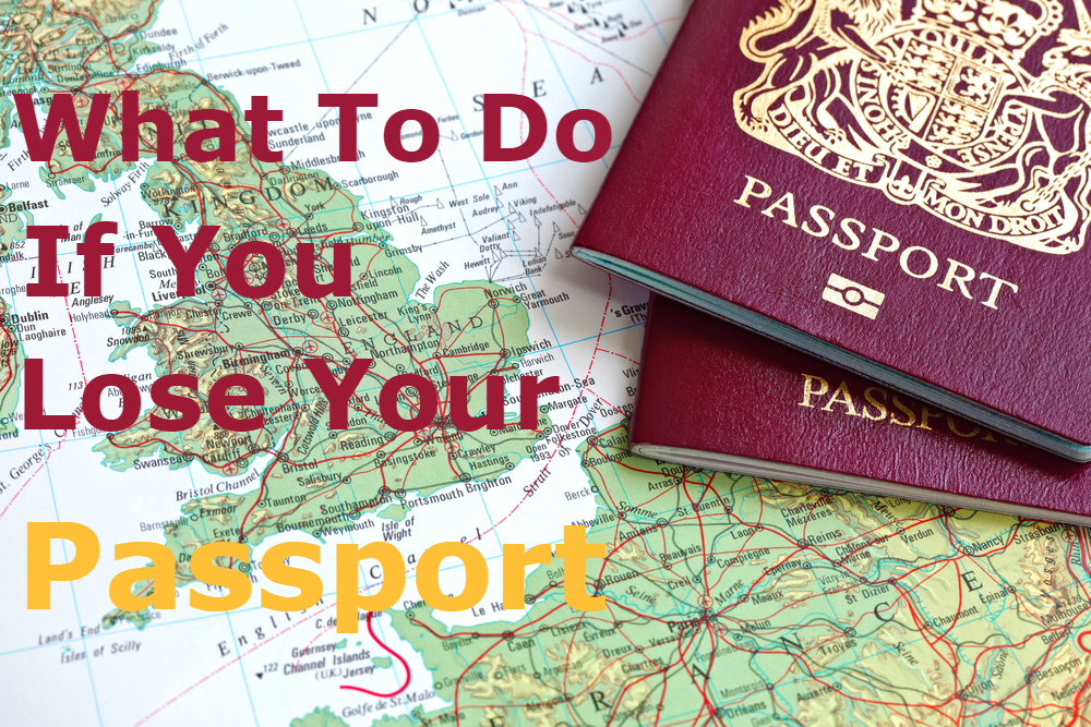 Lost Insurance Number >> What To Do If You Lose Your Passport - A Handy Guide
