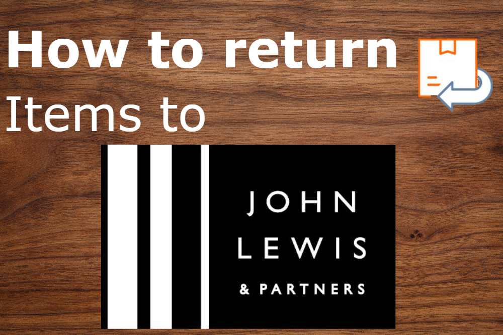 how to return items to john lewis