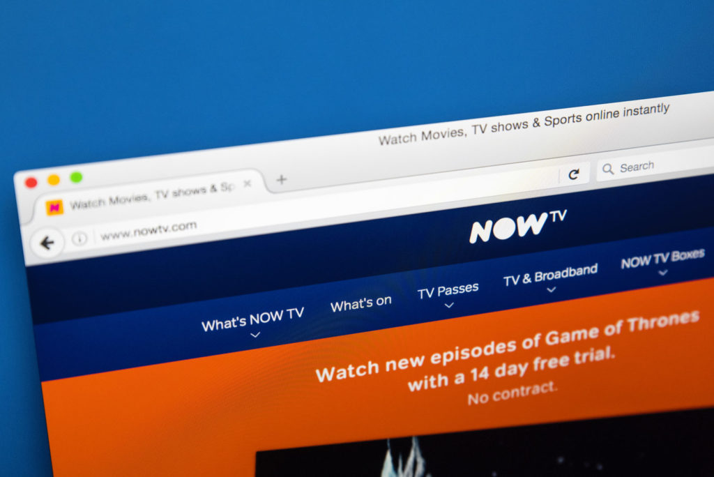 How does Now TV work?