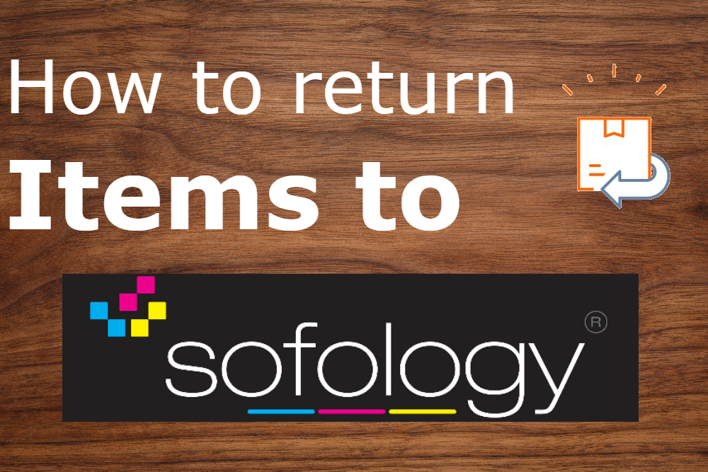 how to return items to sofology