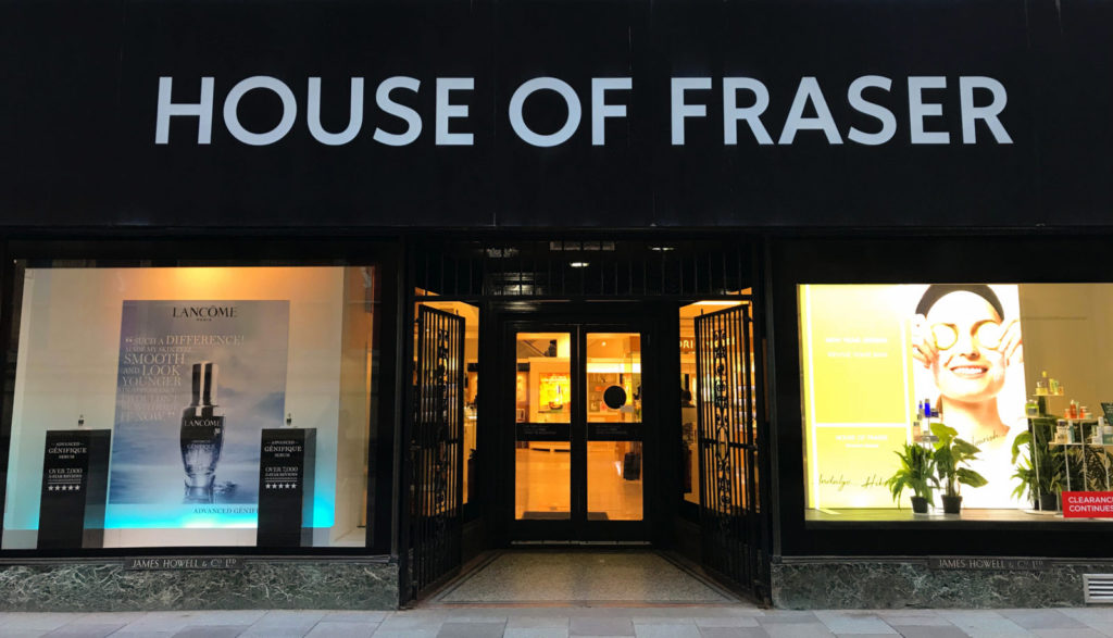 House of Fraser Returns Policy