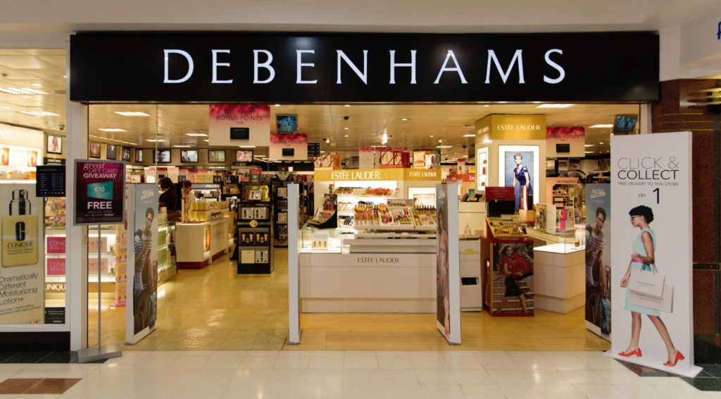 Debenhams Returns