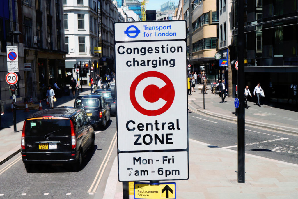 How to Pay London Congestion Charge