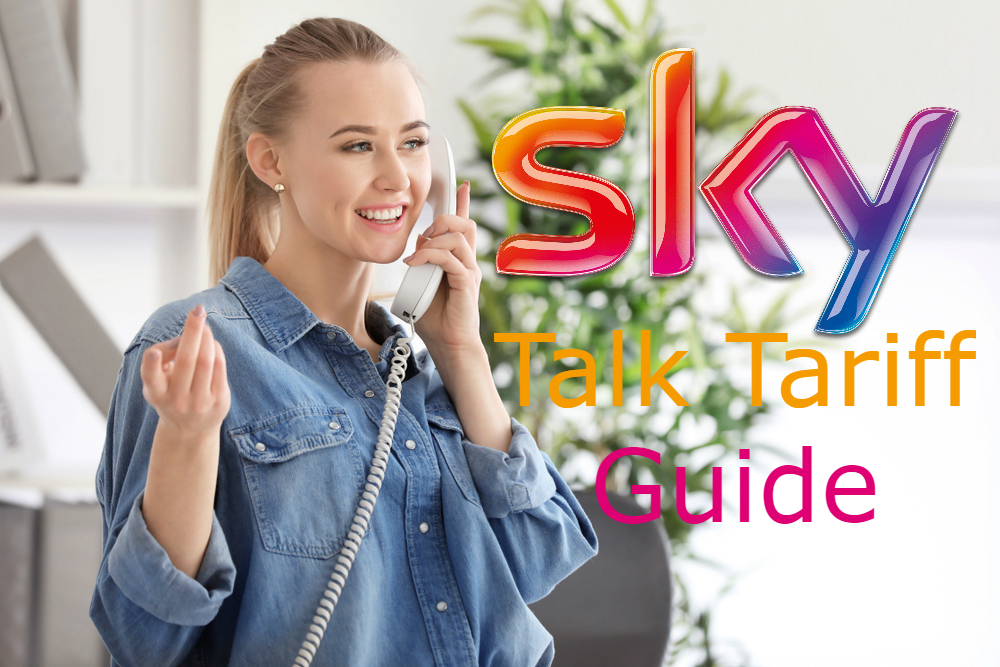 what is sky talk a sky talk tariff guide