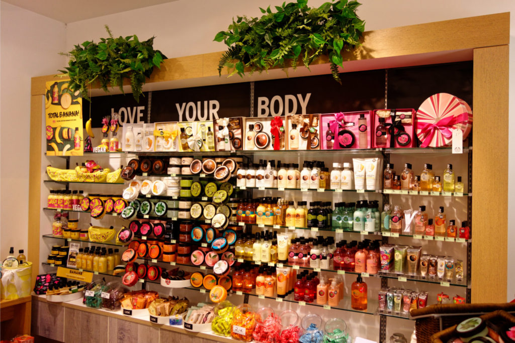 The Body Shop Returns