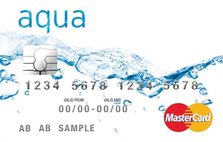 Aqua Credit Card Lost Card